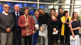 jury en laureaten art contest
