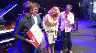uitreiking Robin Sabam Jazz Awards